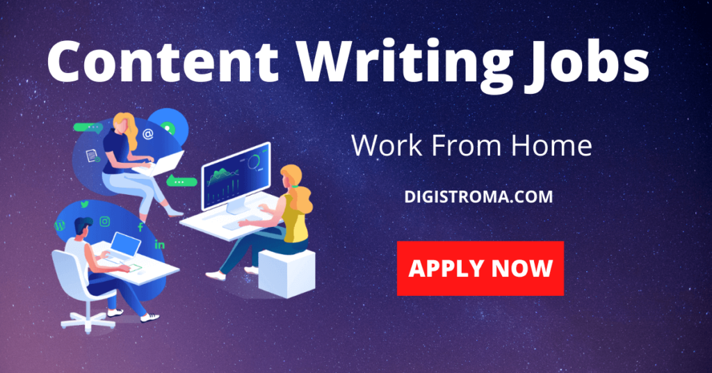 Content Writing Jobs digistroma